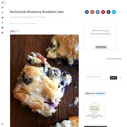 Buttermilk Blueberry Breakfast Cake | alexandra's kitchen — seasonal recipes for everyone