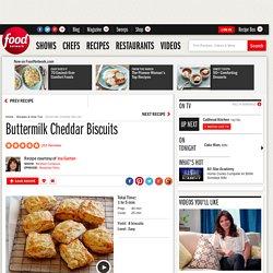 Buttermilk Cheddar Biscuits Recipe : Ina Garten