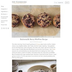 Buttermilk Berry Muffins Recipe