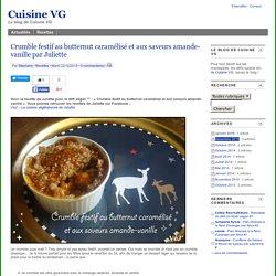 Crumble festif au butternut caramélisé et aux saveurs amande-vanille par Juliette