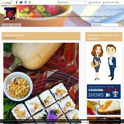 Butternut Sheet Cake - Cuisine et Cigares