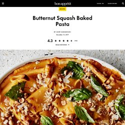 Butternut Squash Baked Pasta Recipe