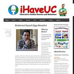Butternut Squash Eggs Benedict