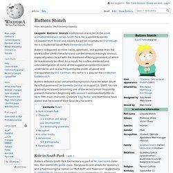 Butters Stotch - Wikipedia