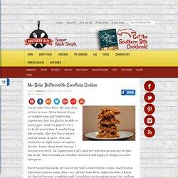 No-Bake Butterscotch Cornflake Cookies - Southern Bite