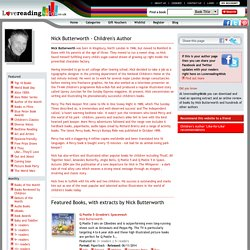 Nick Butterworth books - Children's Author on Lovereading4kids.co.uk