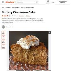 Buttery Cinnamon Cake Recipe