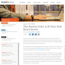 The Button Color A/B Test: Red Beats Green