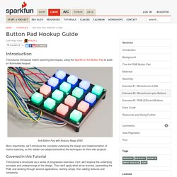 Button Pad Hookup Guide