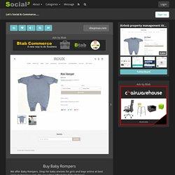 Buy Baby Rompers - Social Social Social