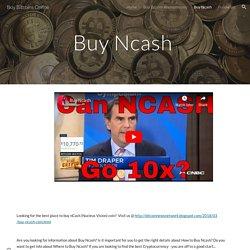 Buy Bitcoins Online - Buy Ncash