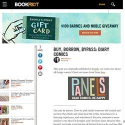 Buy, Borrow, Bypass: Diary Comics