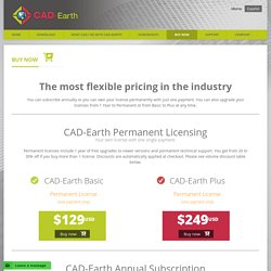 Buy CAD-Earth