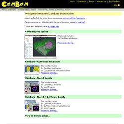 Buy CamBam CNC Software