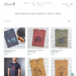 Buy Uni-T Cool Bamboo Cotton T-shirts for Men