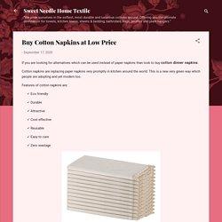 Buy Cotton Napkins at Low Price