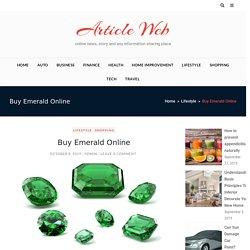 Buy Emerald Online