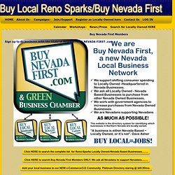 Reno-Sparks Local Business Co-Op - HOME