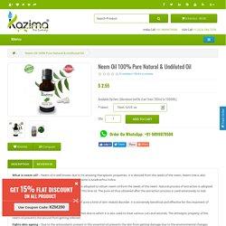 Buy Neem Oil online India - cheap Neem Oil online India