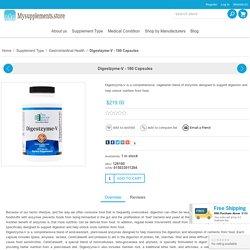 Buy online Digestzyme-V 180 Capsules