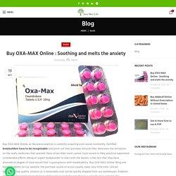 Buy OXA-MAX Online in USA