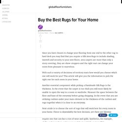 Buy the Best Rugs for Your Home