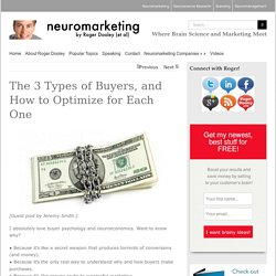 The 3 Types of Buyers, and How to Optimize for Each One - Neuromarketing