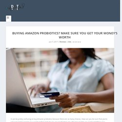 Buying Amazon Probiotics?