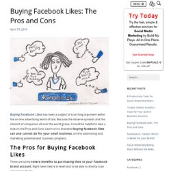 Buying Facebook Likes: The Pros And Cons