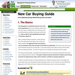 New Car Buying Guide - the Best Car Buying Advice and Tips