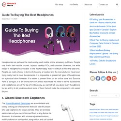 Guide To Buying The Best Headphones 2020