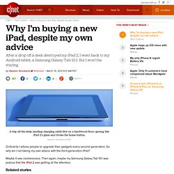 Why I'm buying a new iPad, despite my own advice | Deep Tech