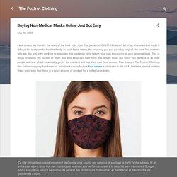 Buying Non-Medical Masks Online Just Got Easy