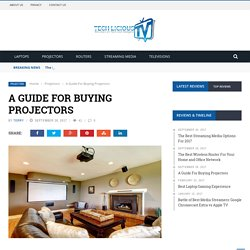 A Guide For Buying Projectors
