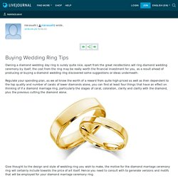 Tip To Buying Wedding Ring