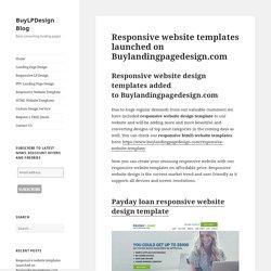 BuyLPDesign Blog