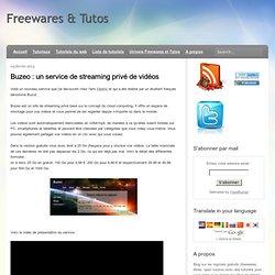 un service de streaming privé de vidéos
