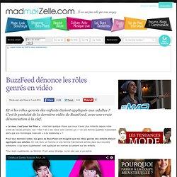 BuzzFeed dénonce les rôles genrés en vidéo