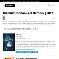 The Buzziest Books of October