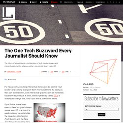 The One Tech Buzzword Every Journalist Should Know ⚙ Co