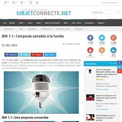 BW 1.1 : l'ampoule sensible à la fumée