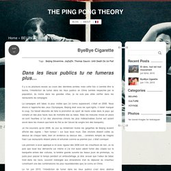 THE PING PONG THEORY