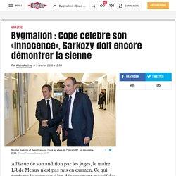 Bygmalion: Copé célèbre son «innocence», Sarkozy doit encore démontrer la sienne