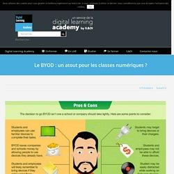 Le BYOD : un atout pour les classes numériques ?