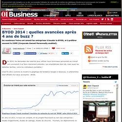 BYOD 2014 : quelles avancées après 4 ans de buzz ? via @ChadiHantouche