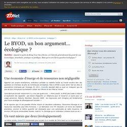Le BYOD, un bon argument… écologique ?