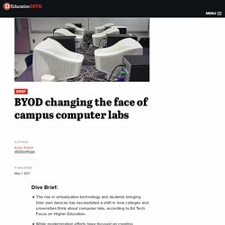 BYOD changing the face of campus computer labs