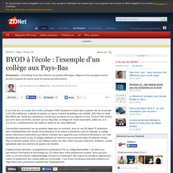BYOD à l'école : l'exemple d'un collège aux Pays-Bas