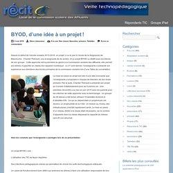 BYOD, d'une idée à un projet!