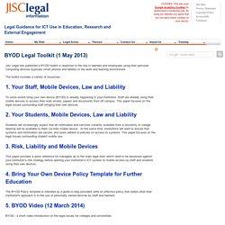 BYOD Toolkit (1 May 2013